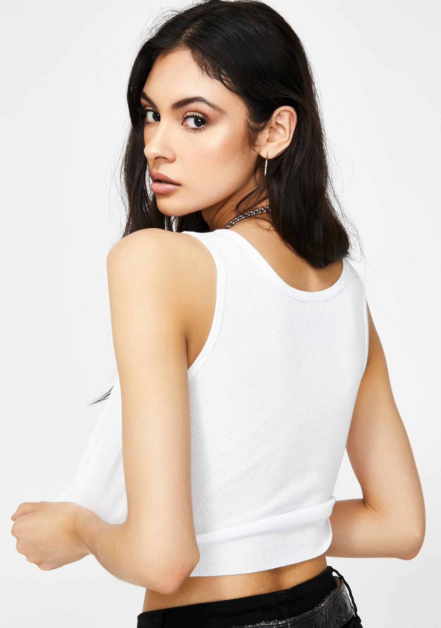 not another label Lady Satan Graphic Crop Tank