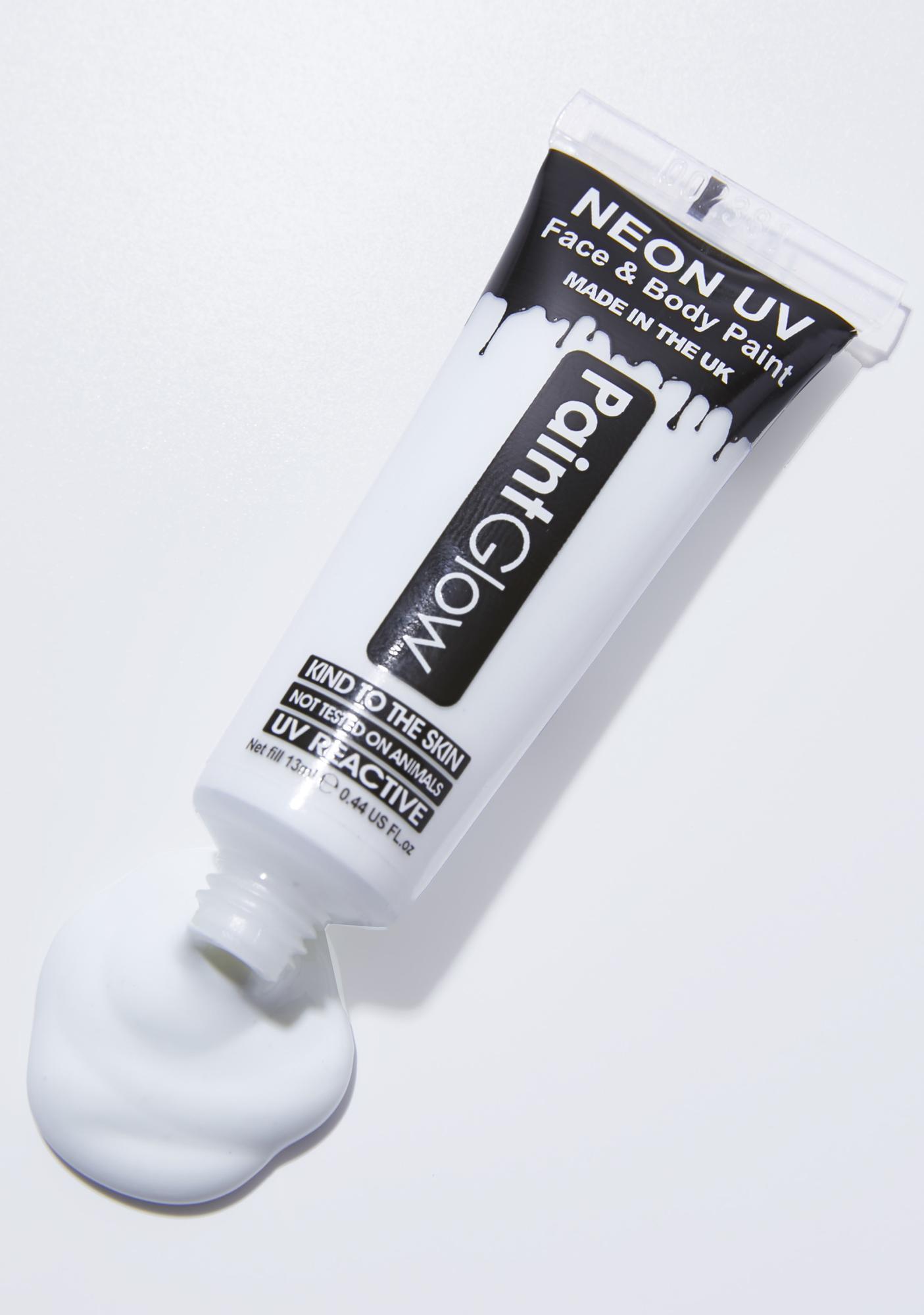 Intense White Rave On UV Face N' Body Paint