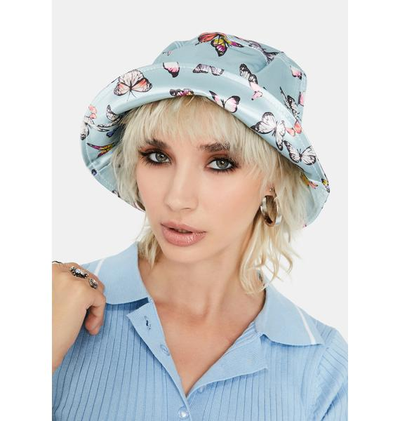 Sky Buckets of Butterflies Hat