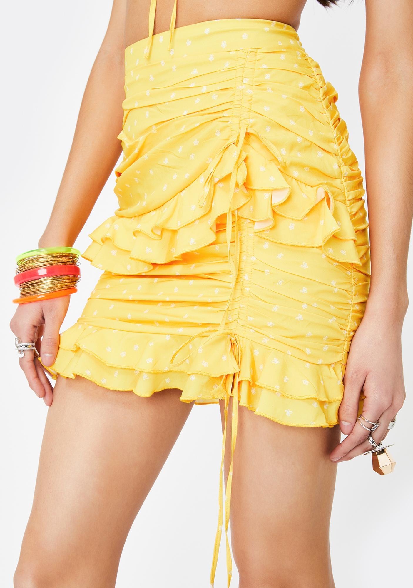 Tiger Mist Colorado Mini Skirt
