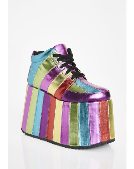 Electric Circus Platform Sneakers