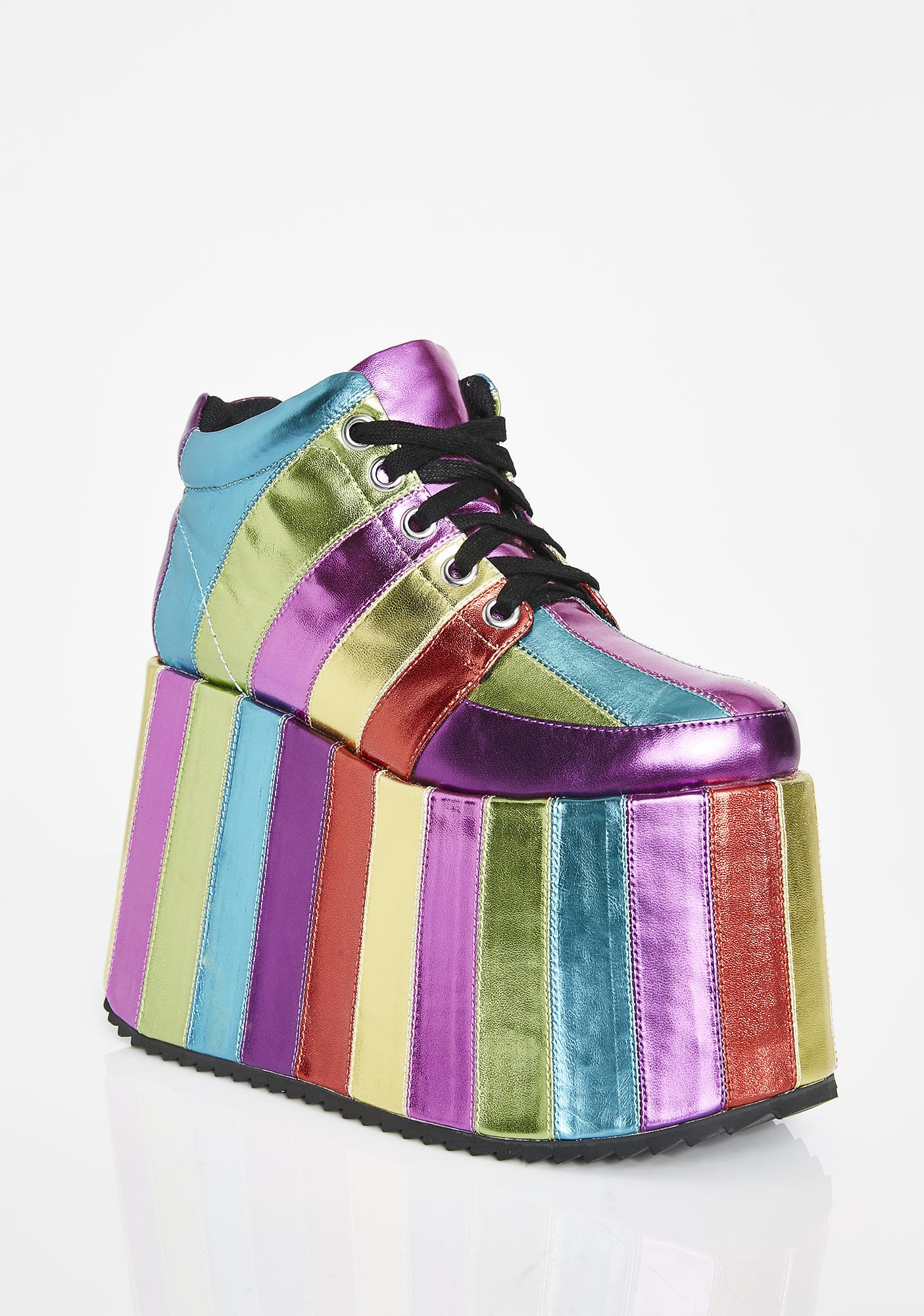 Club Exx Electric Circus Platform Sneakers