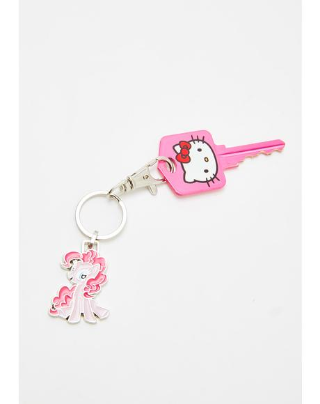 Pinkie Pie Mini Keychain