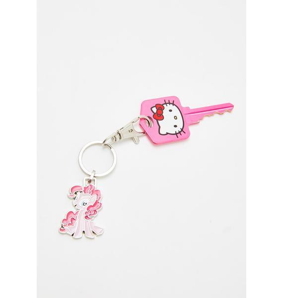 Pinkie Pie Mini Keychain