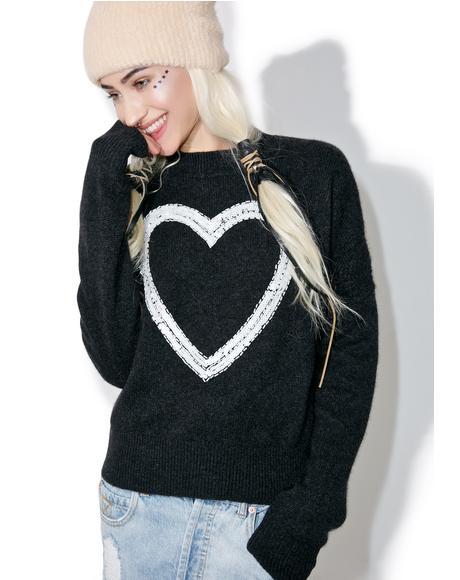 Glitz Heart Gainsborough Sweater