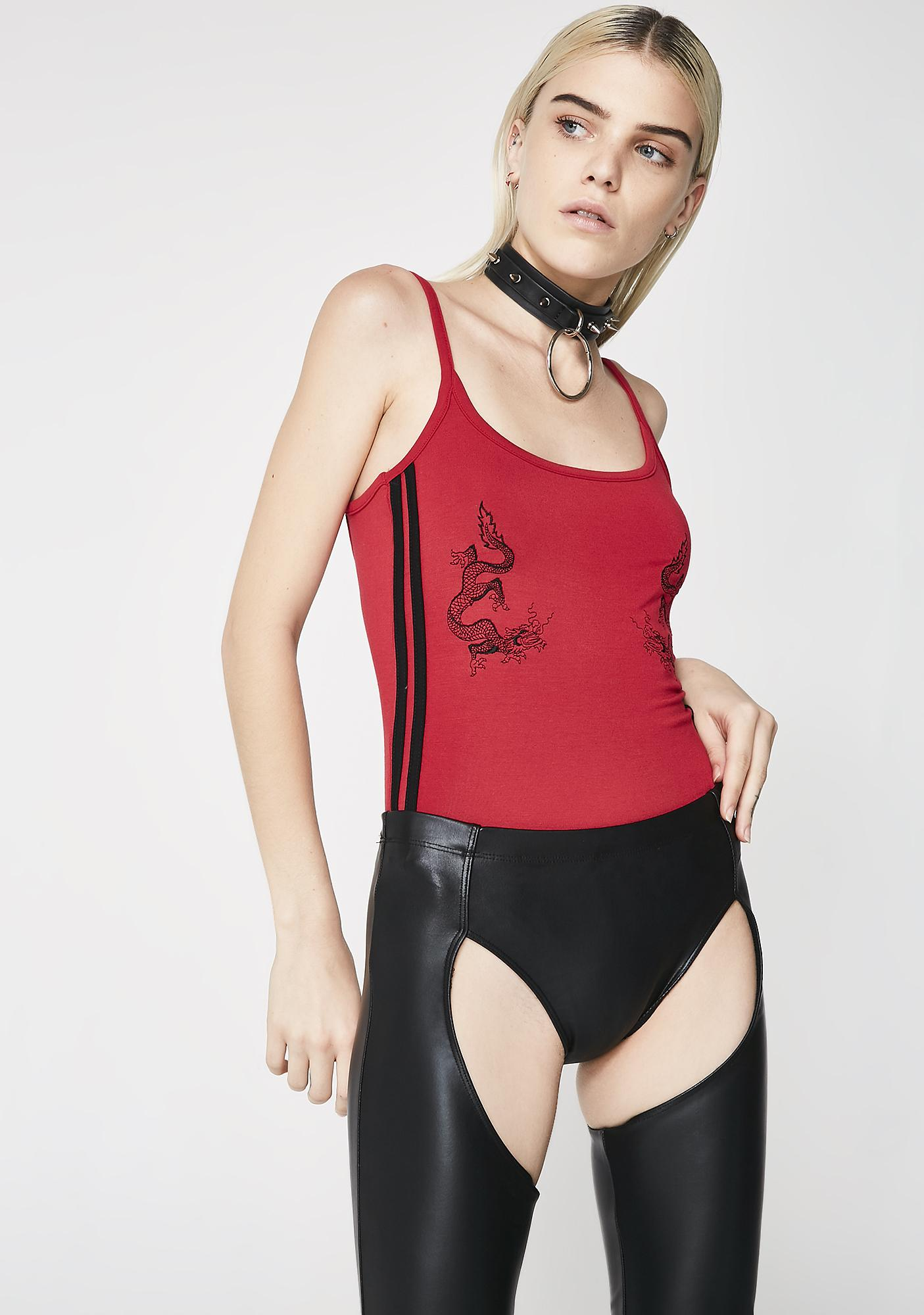 O Mighty Dragon Boobz Bodysuit