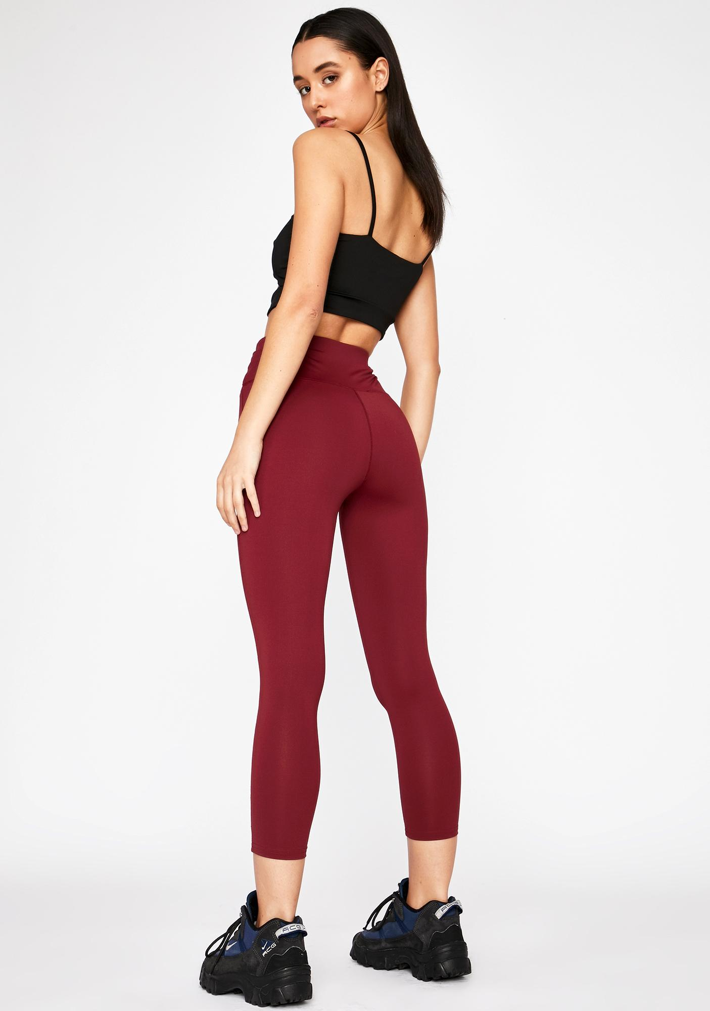 Light Werk Zipper Leggings