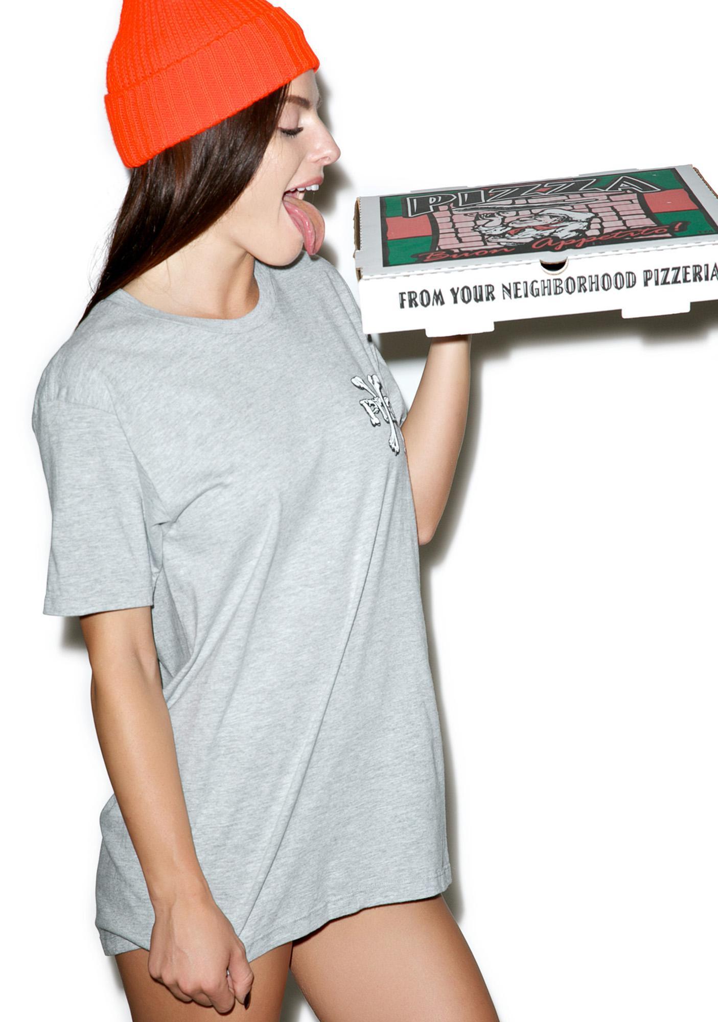 Pizzanista Crossbones Tee