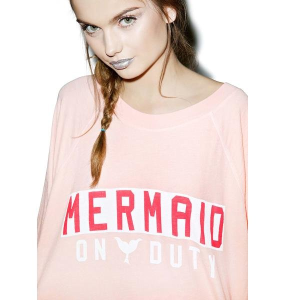 Wildfox Couture Mermaid On Duty Kim's Sweater