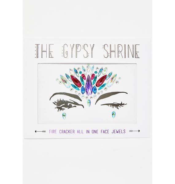 The Gypsy Shrine Fire Cracker Face Jewel