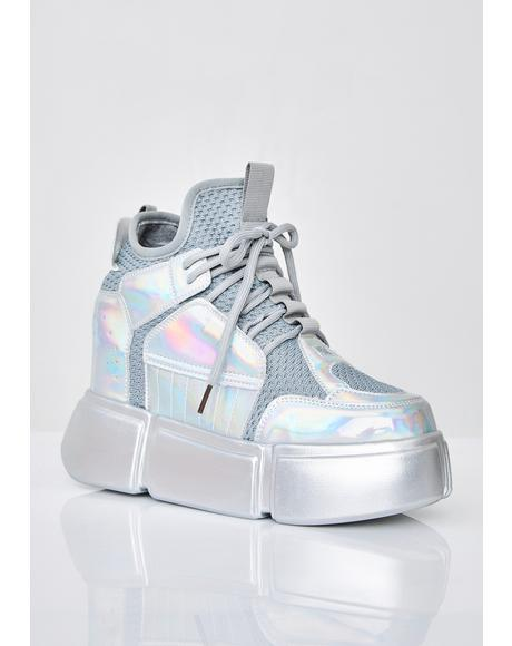 Moon Invader Platform Sneakers