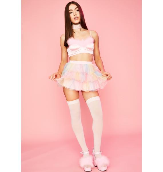 Sugar Thrillz Sweet Nectar Tulle Skirt