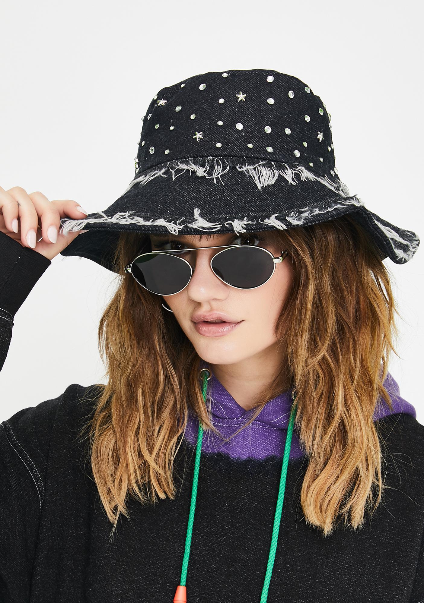 Quick Wish Denim Bucket Hat
