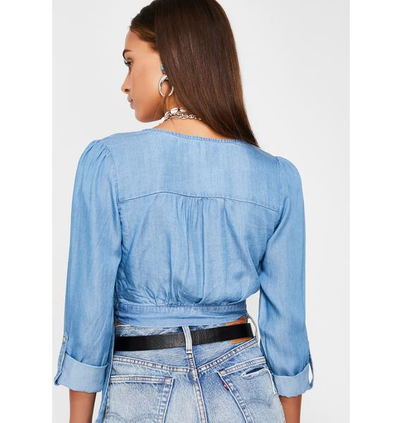 Flow State Wrap Top