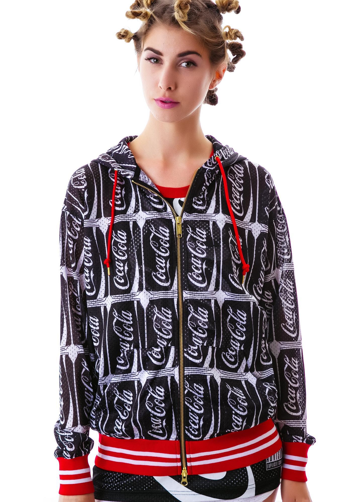 Joyrich Coca-Cola Mesh Hoodie