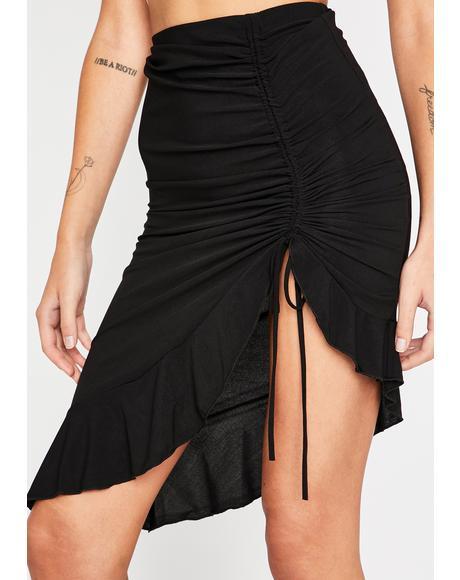 Show Off Midi Skirt