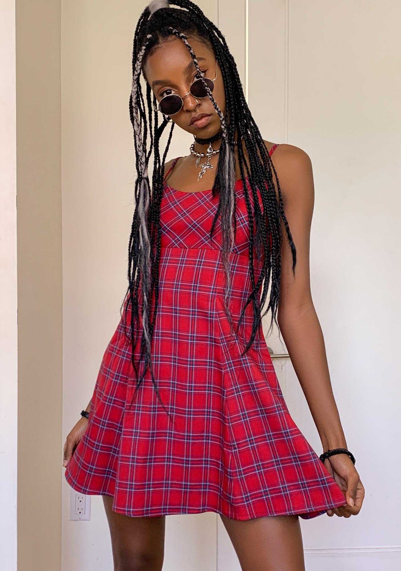 dELiA*s by Dolls Kill Off The Walls Skater Dress