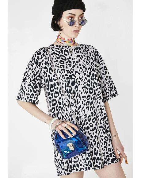 Leopard Sunny Kiss Tee Dress