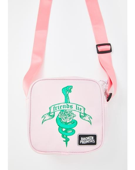 Friends Lie Mini Crossbody Bag