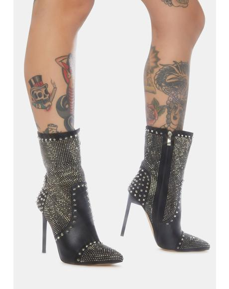 Carol Stiletto Heel Booties
