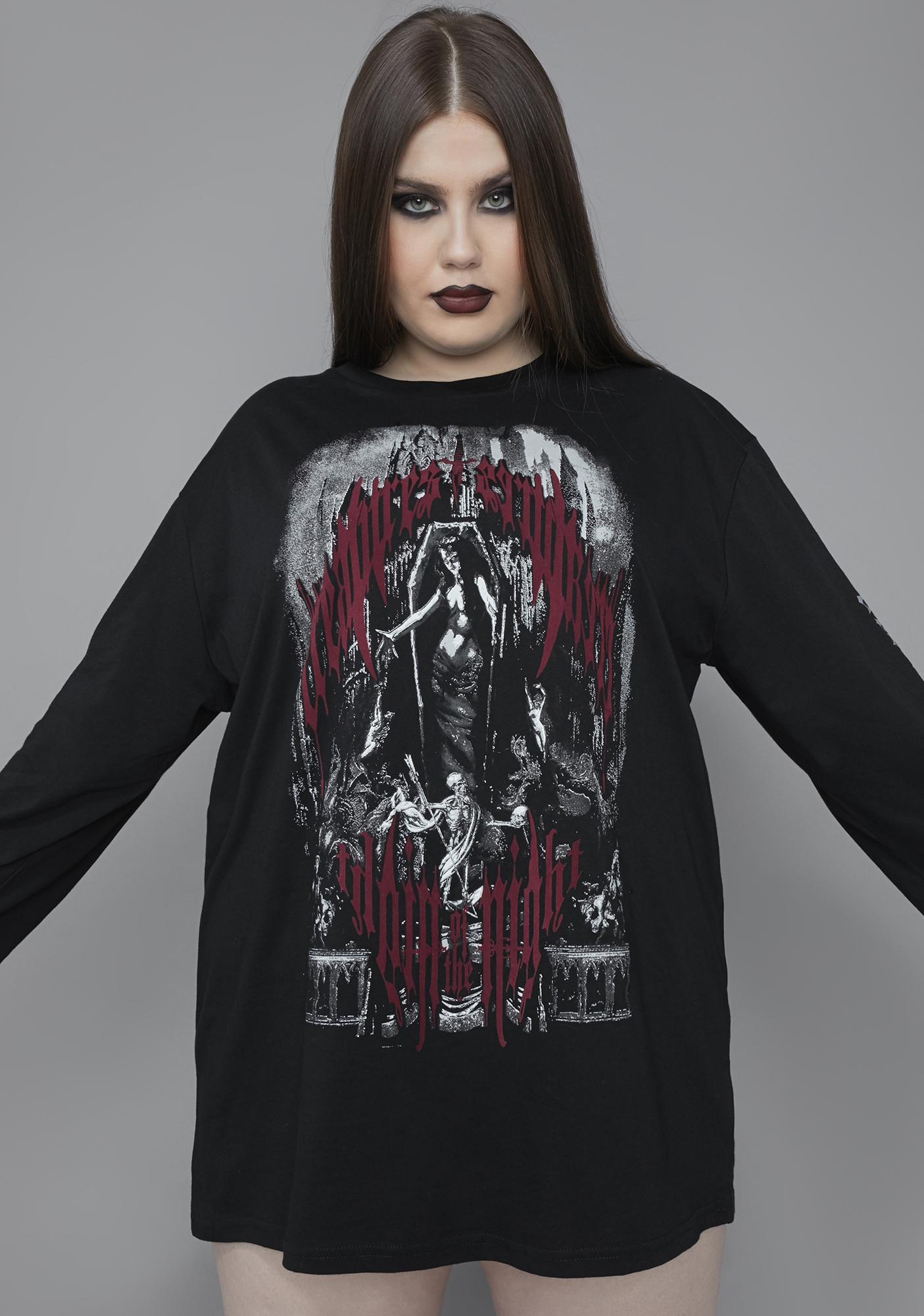 Widow My Heart Of Darkness Graphic Tee