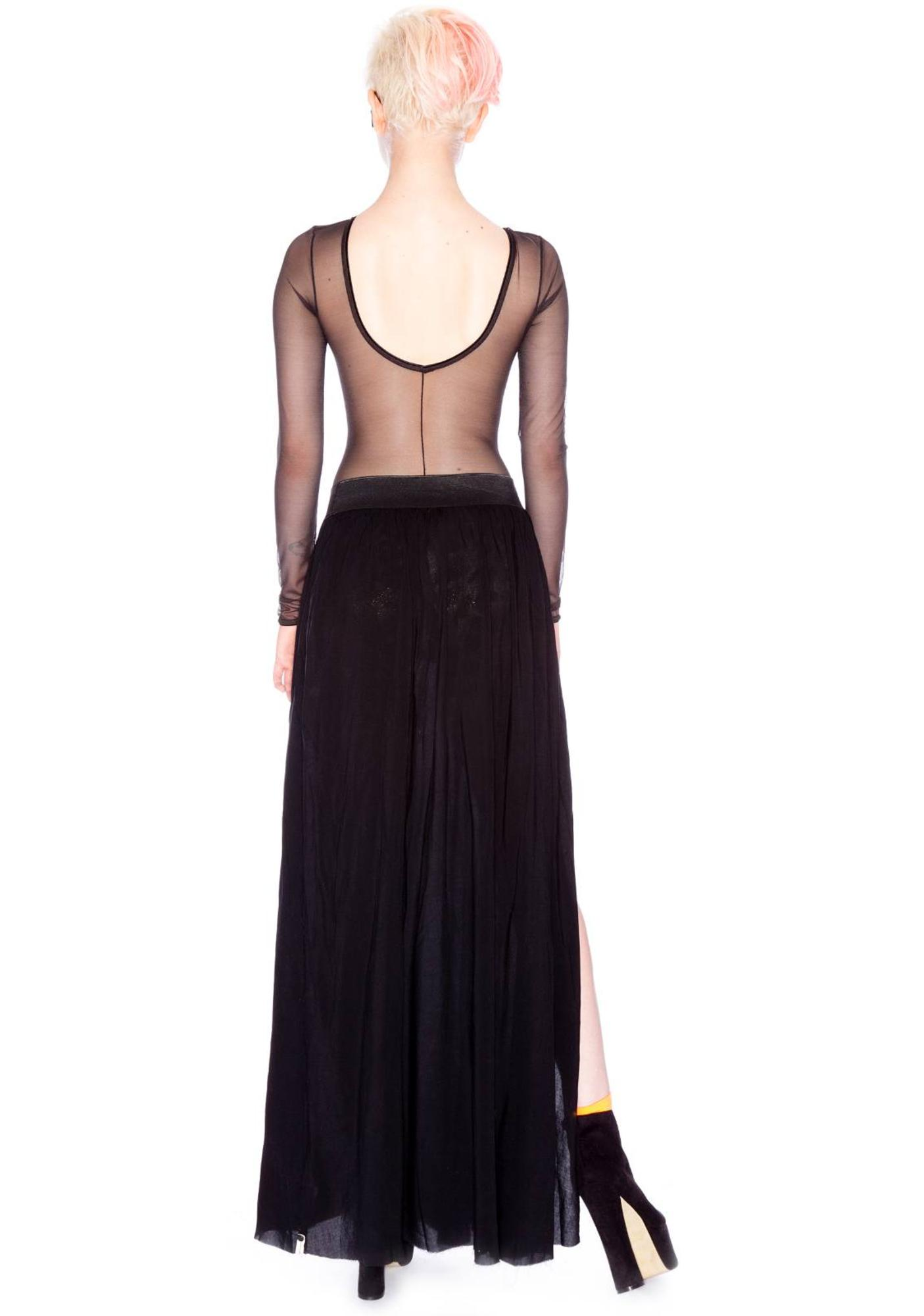 One Teaspoon Trinity Maxi Skirt