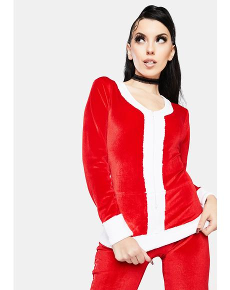 Women's Santa Jumpsuit