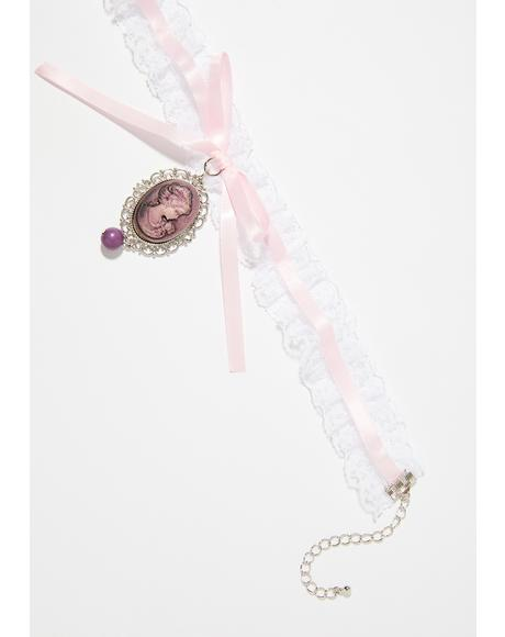 Tea Time Lace Choker
