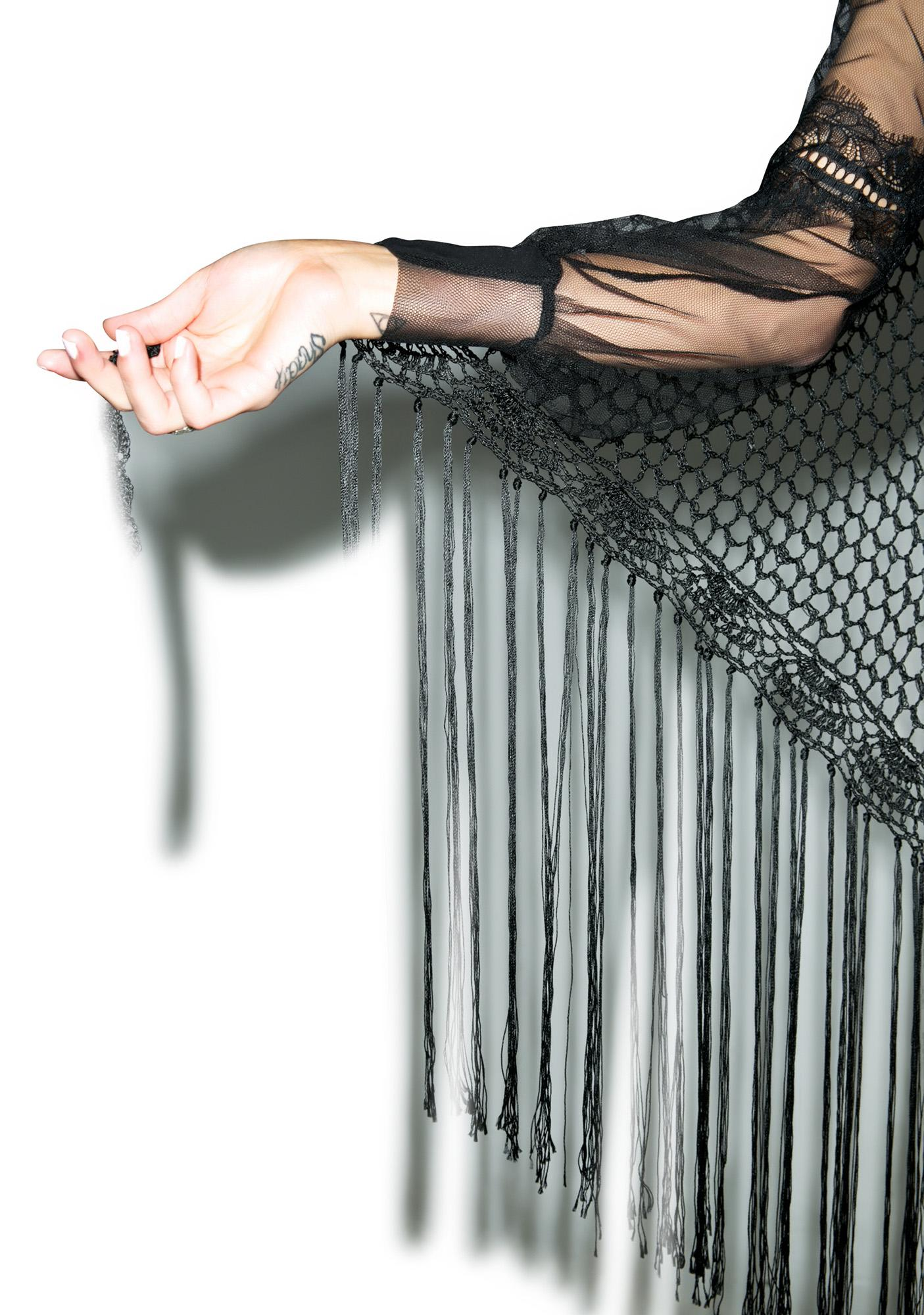 Widow Future Foretold Shawl