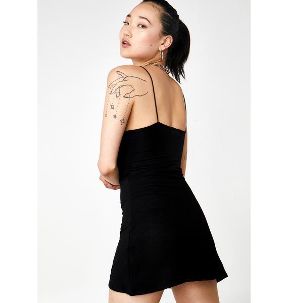 O Mighty Tribal Tattoo Mini Dress