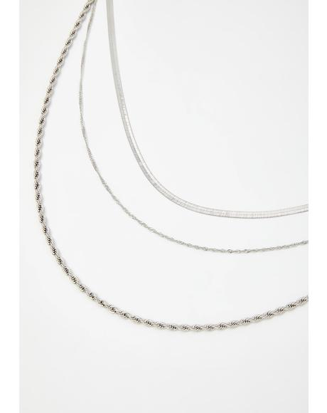 Money Momentum Chain Necklace