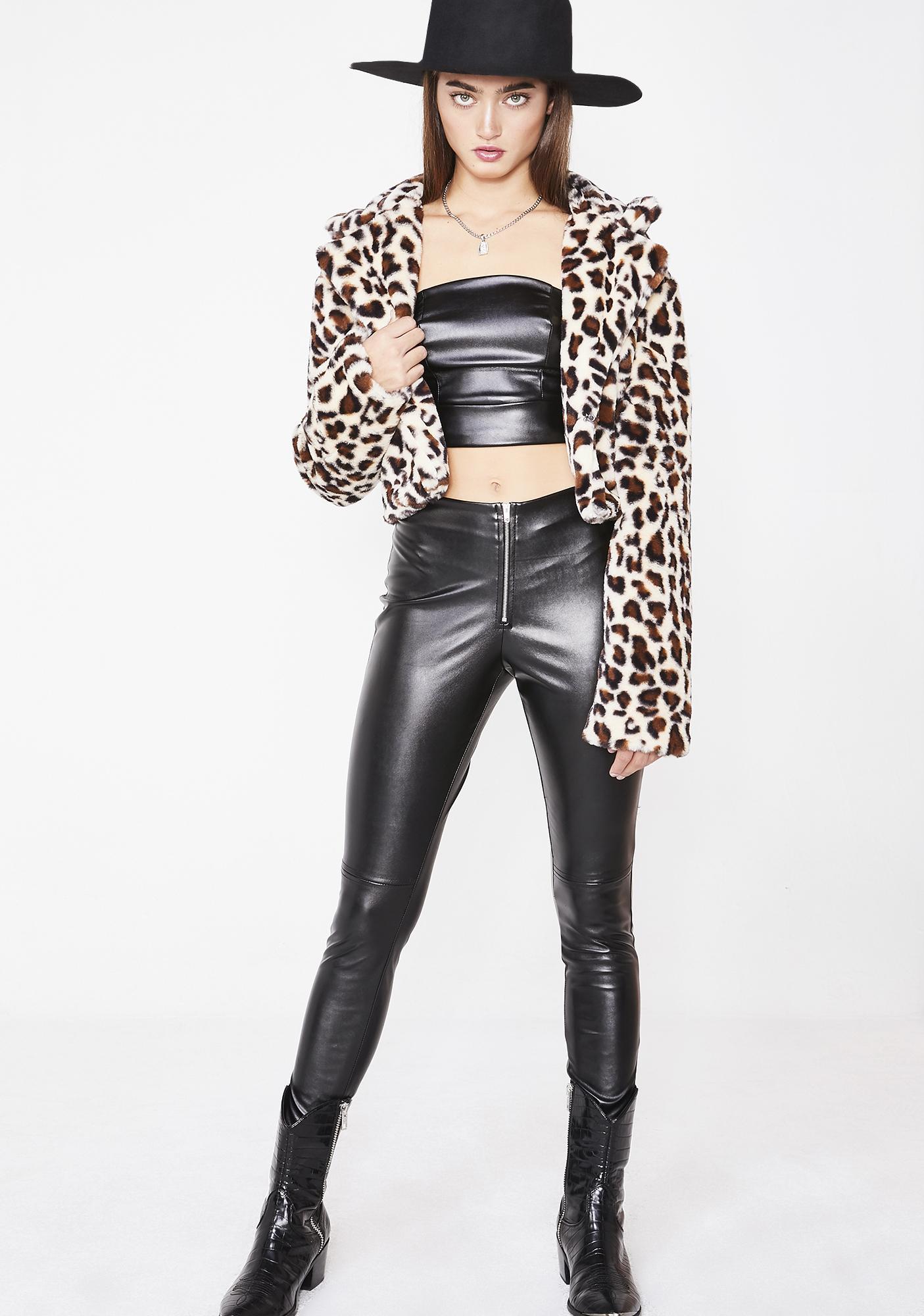 Tiger Mist Leopard Mimi Jacket