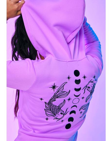 Psychic Player Pisces Zip-Up Hoodie