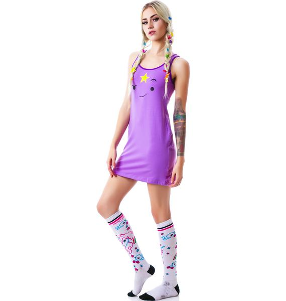 Undergirl Lumpy Space Princess Face Dress