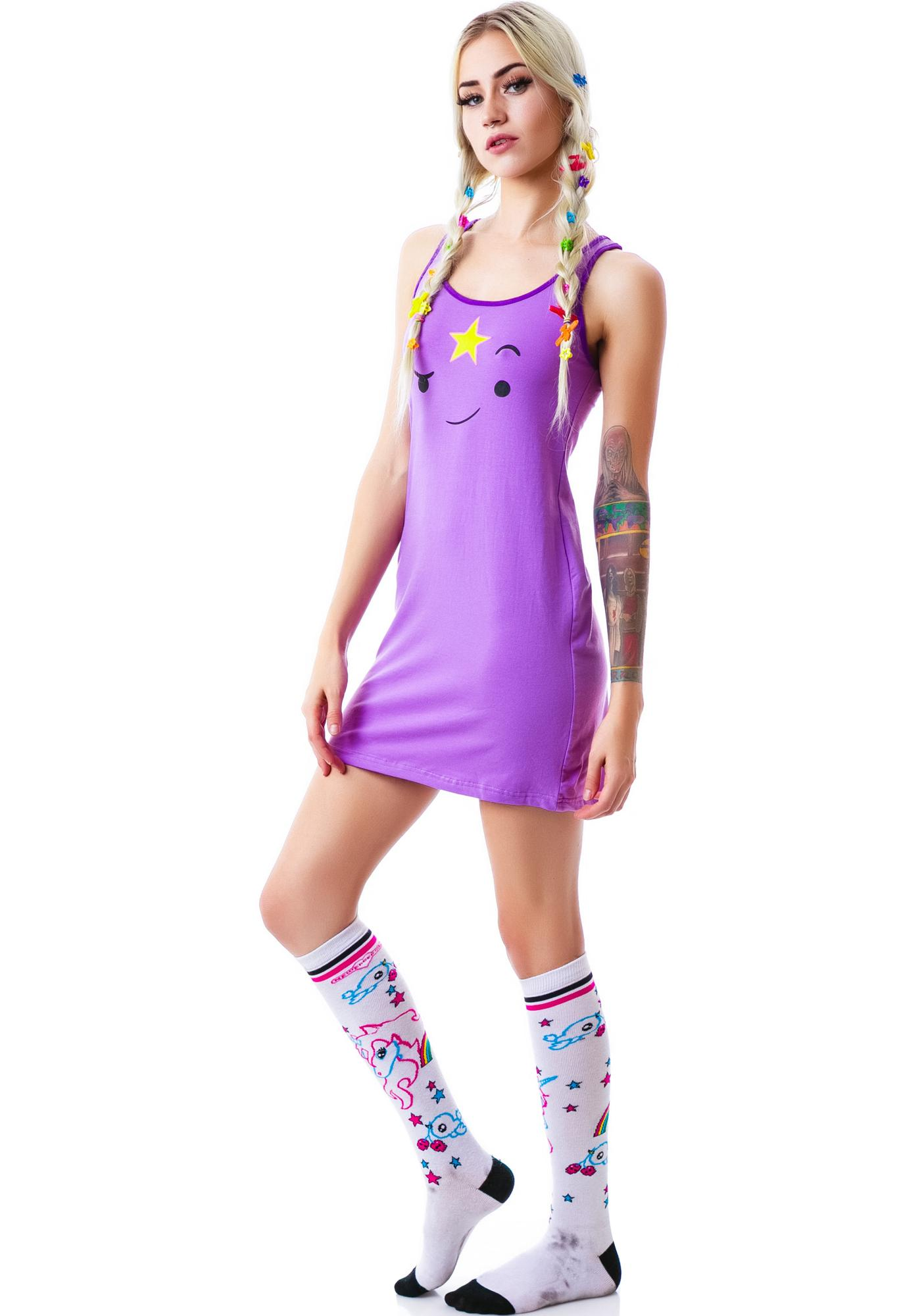 Undergirl Lumpy Space Princess Face Dress