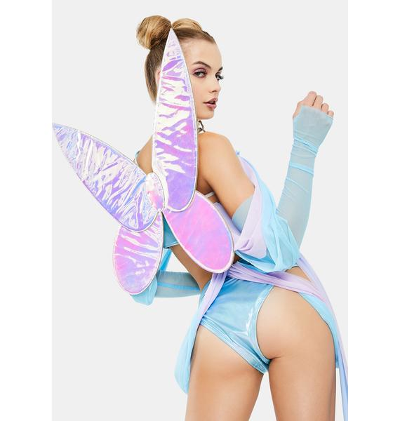Forplay Iridescent Fairy Wings