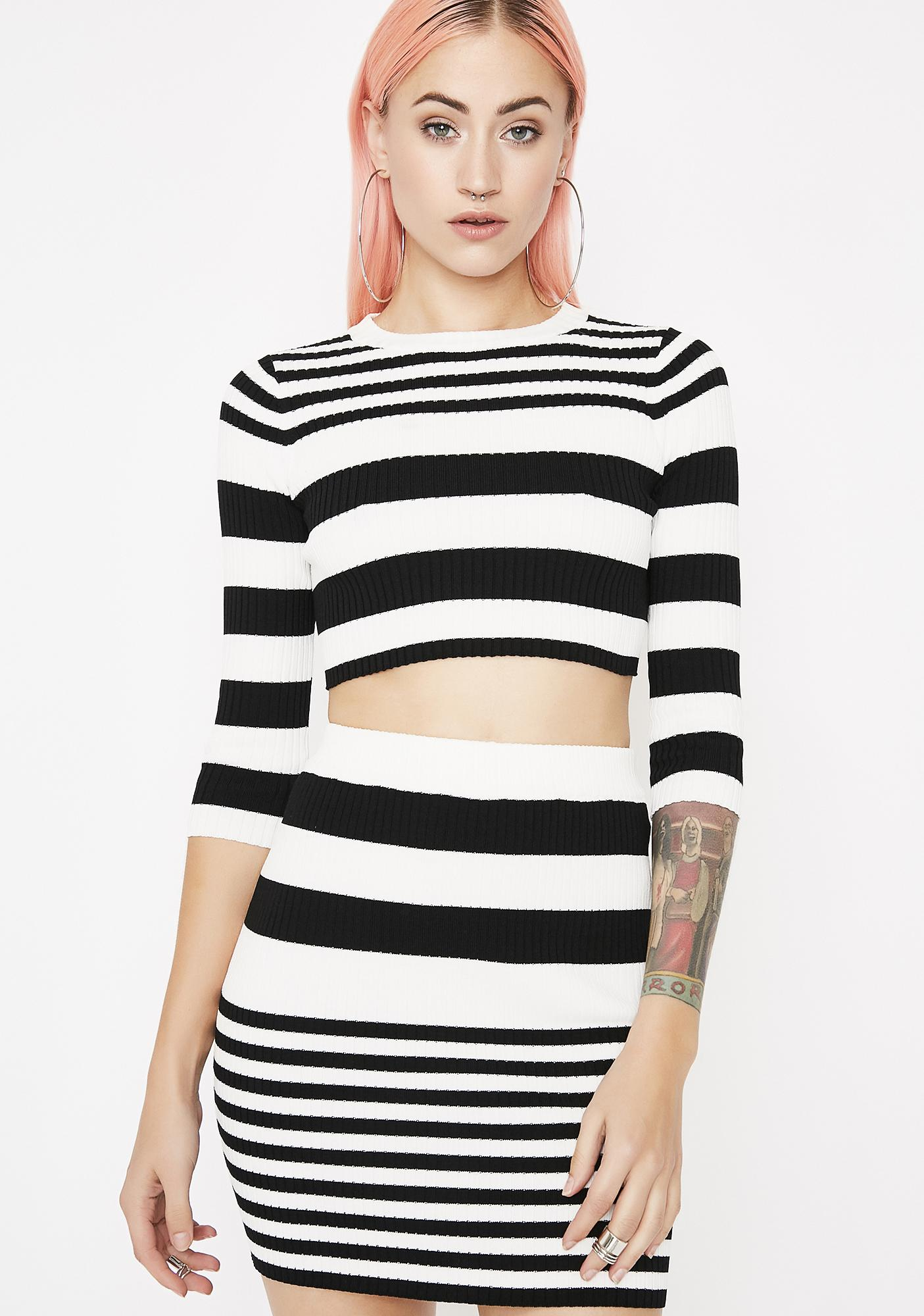 Joyride Striped Set