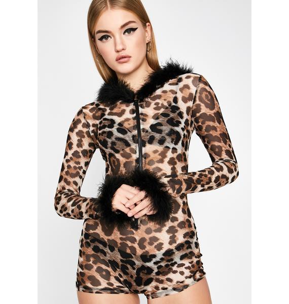 Terrorizing Thots Leopard Romper