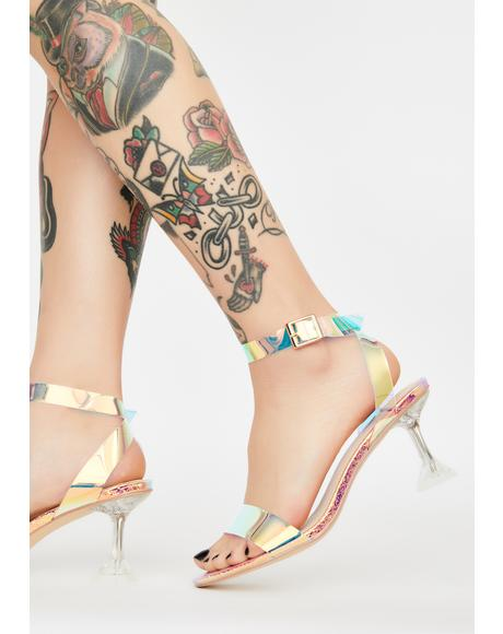 Magic Euphoria Iridescent Heels