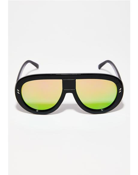 Paparazzi Shield Aviators