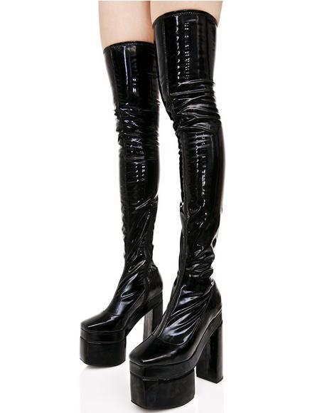 Belladonna Thigh-High Boots