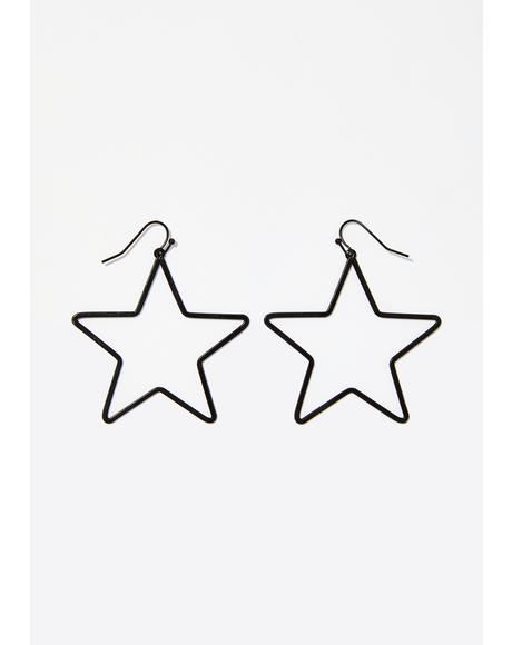 Super Nova Star Earrings
