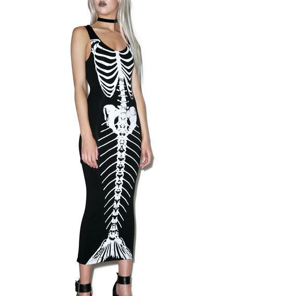 Iron Fist Bone Deep Maxi Dress