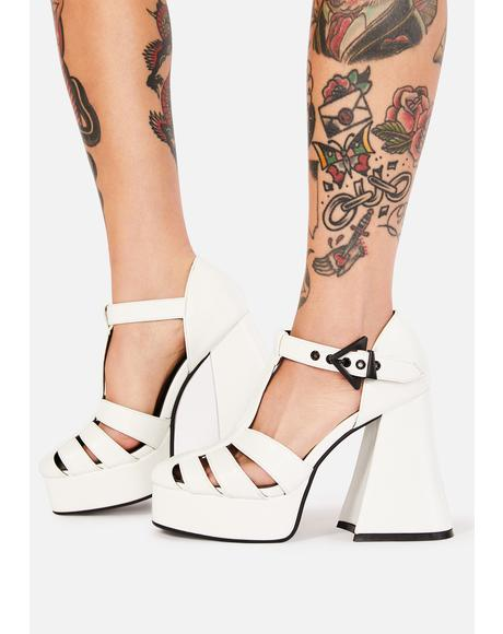 Pushing Forward Platform Heels