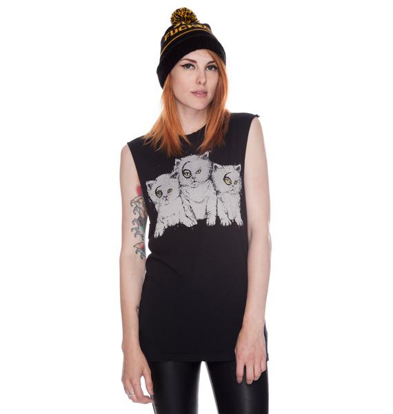 UNIF 666 Cats Muscle Tank