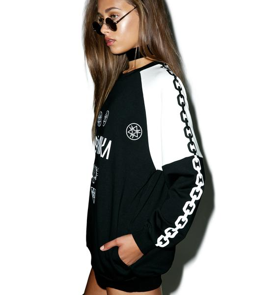 Long Clothing Mishka 2.0 Hell Rides Death Adder Chain Sweat