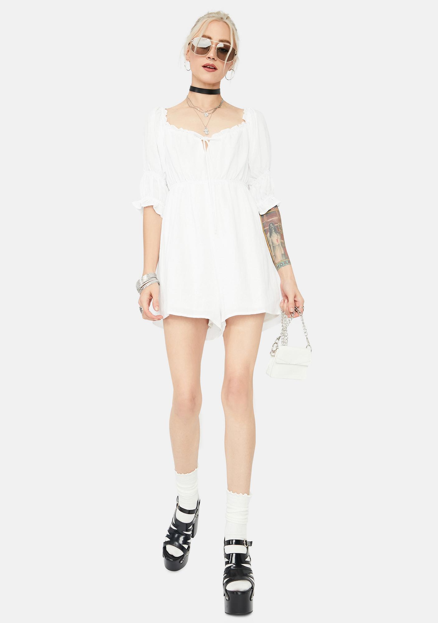 Escape To Heaven Babydoll Mini Dress