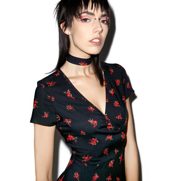 Valfré Rosas Wrap Dress