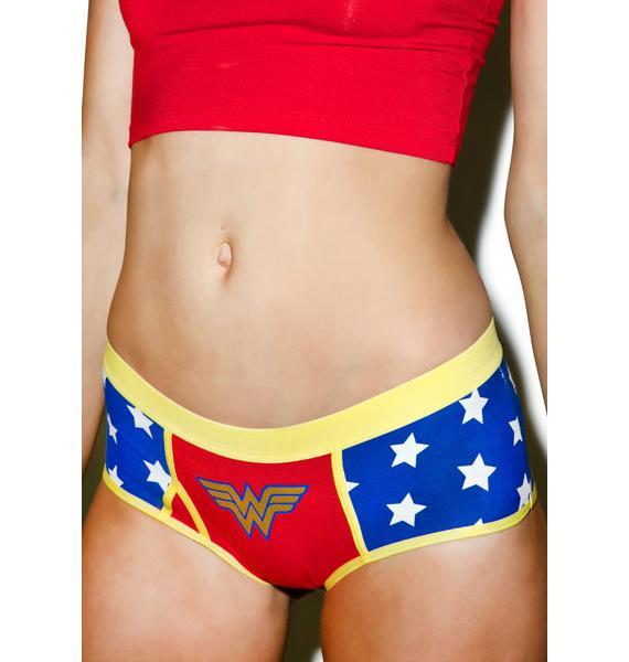 Undergirl Wonder Woman Foil Panties