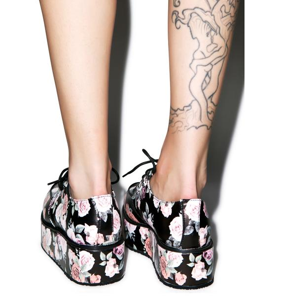 T.U.K. Floral Wrapped Creepers